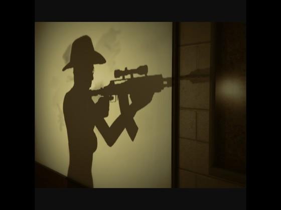 Spiel im Schatten