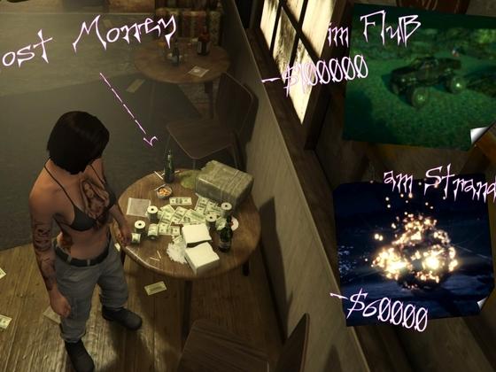 verlorenes Geld -- habe es gefunden ;)