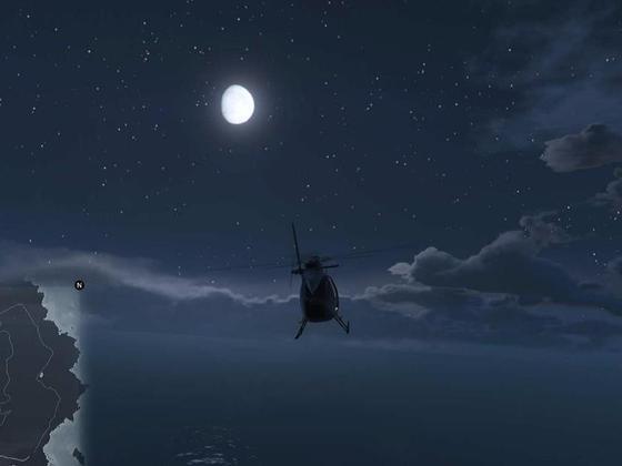 eine schöne Vollmondnacht