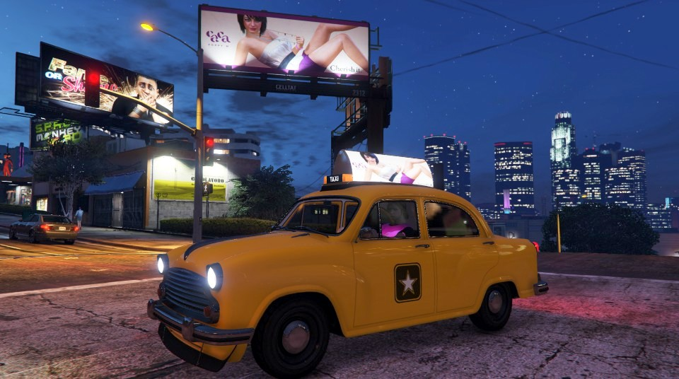 Weeny Dynasty - Crew-Taxi (Fahrerseite)