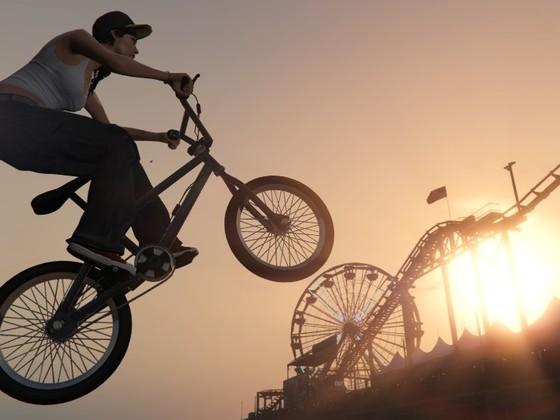BMX am Pier