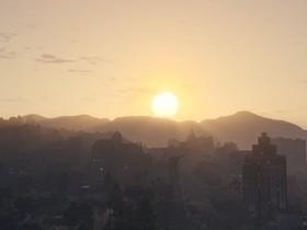 Sonnenaufgang in Los Santos