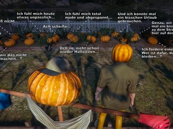 Arbeitsmoral zu Halloween (2.Teil)
