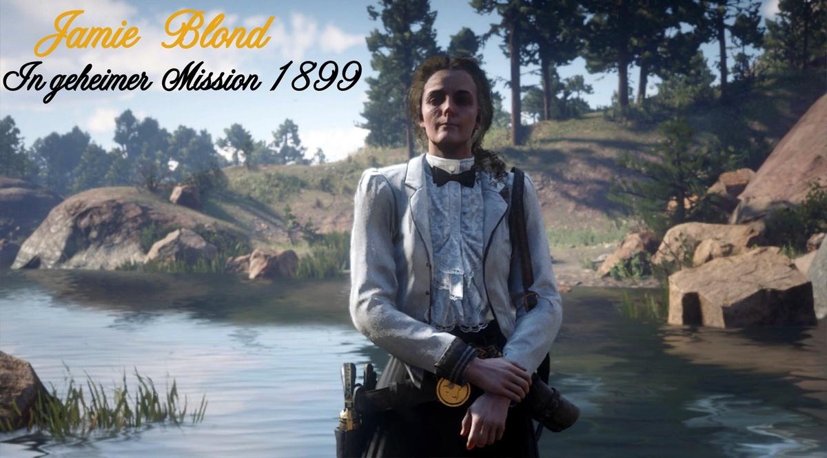 Jamie Blond - In geheimer Mission 1899