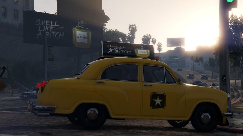 Weeny Dynasty - Crew-Taxi (Beifahrerseite)