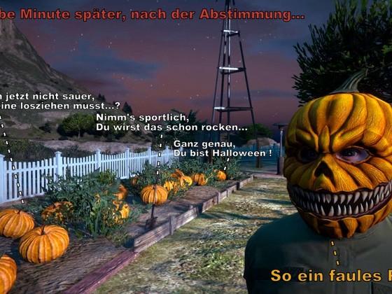 Arbeitsmoral zu Halloween (3.Teil)