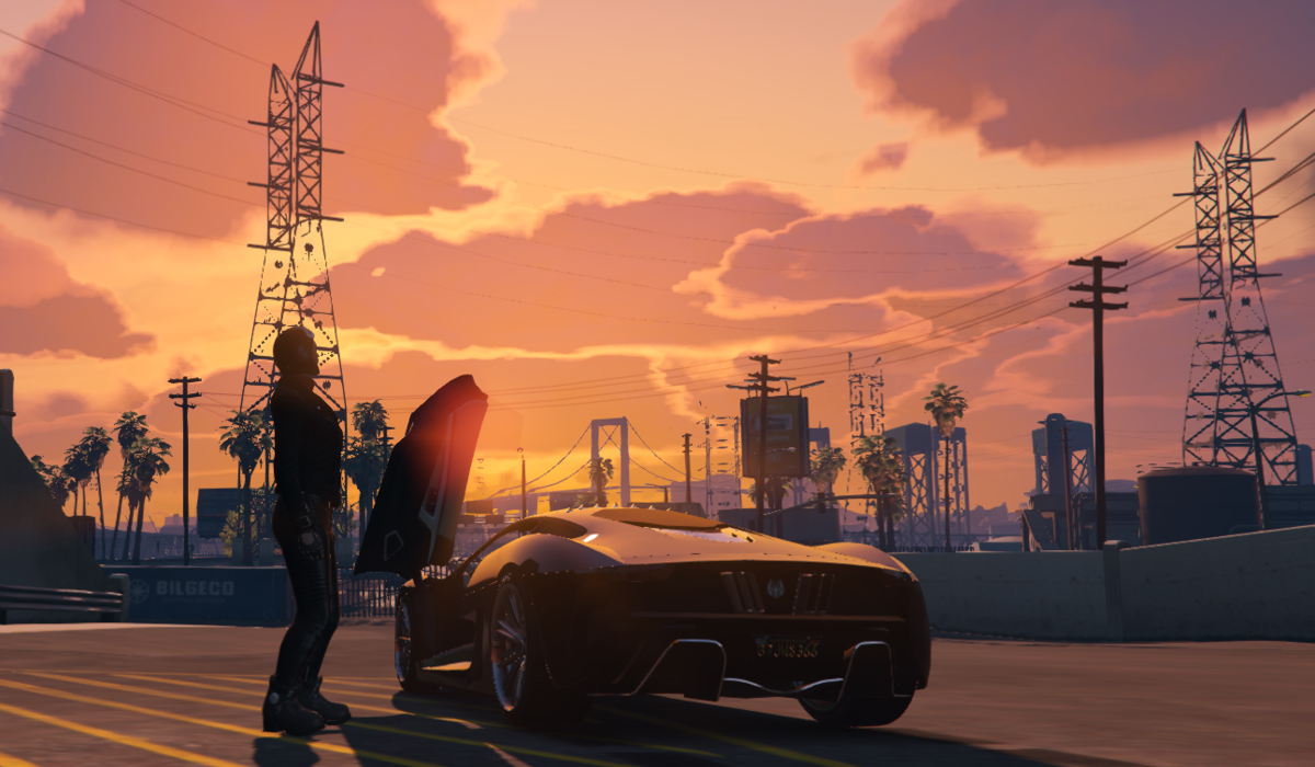 Sunset mood with my Ocelot XA-21