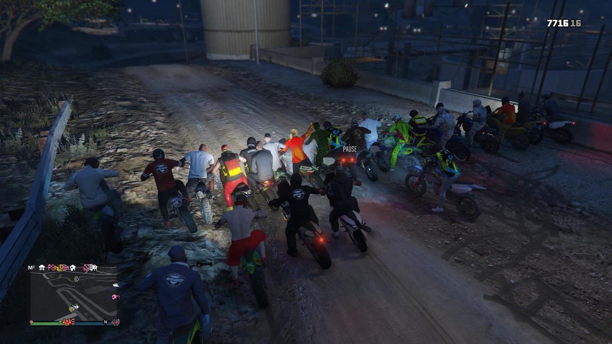 Community Treff 23.10.: Baustellenrace