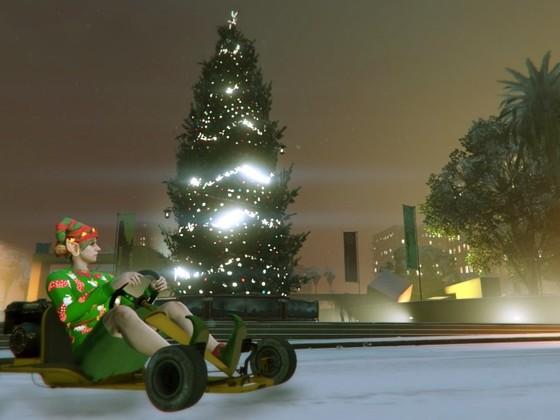 Weihnachtsgrüße vom Legion Square