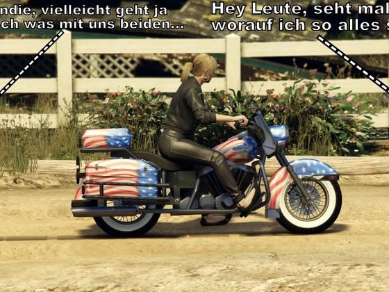 Biker Babe II