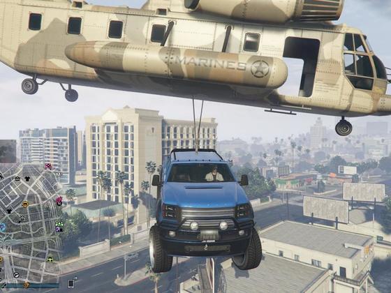 Es gibt doch nichts schöneres als mit dem Auto zu fliegen